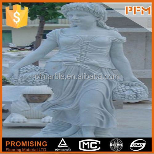 2014 hot sale natural marble made hand carved garden stone furniture