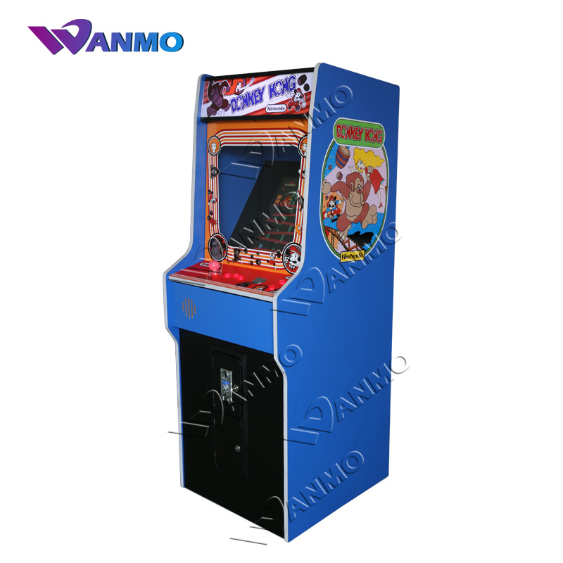 New Design 80s Old School Style Games Uprught Arcade Cabinet Donkey Kong Video Multi Game Machine