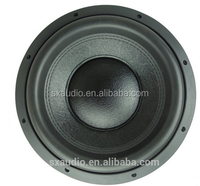 "Powerful 15""X3magnents 4"" BASV Dual Voice Coil SPL speakers subwoofer"