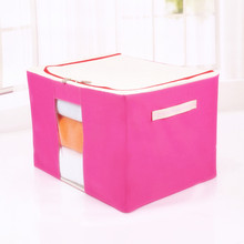 Folding under bed toy storage box for kids collapsible storage box with lid 600d oxford fabric