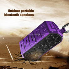 Shenzhen Top One Electronic product IP66 Waterproof wireless bluetooth speaker with hook