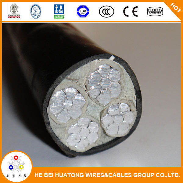 Low voltage 0.6/1KV 4*70mm2 power cable with PVC insulation and sheath