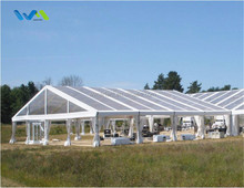 15x20m Clear Plastic Wedding Party Marquee Tent From China For Sale