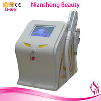 Niansheng 2016 NEW 3 handles ipl laser hair removal for sale