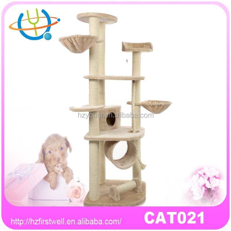 2016 Sweet Hot selling cat scratching tree climber