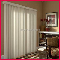 decorative colored polyester string PVC curtain vertical blinds