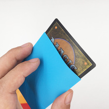 66*91mm colorful custom plastic game card sleeves