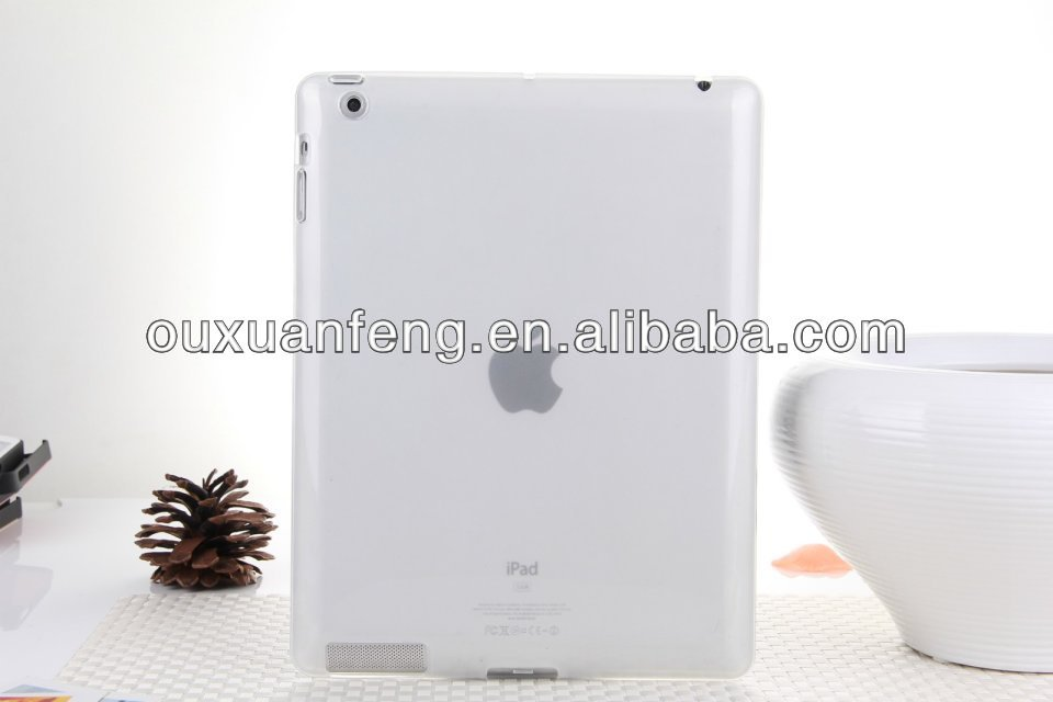 Ultraslim Flexible Pure Color TPU Case for iPad 2,3,4,5