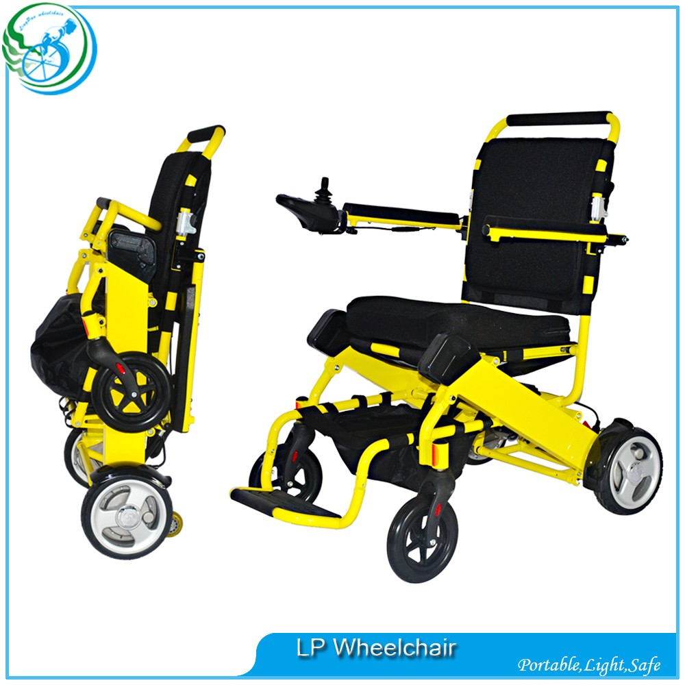 Light New Style aluminum small Electric Wheelchairs