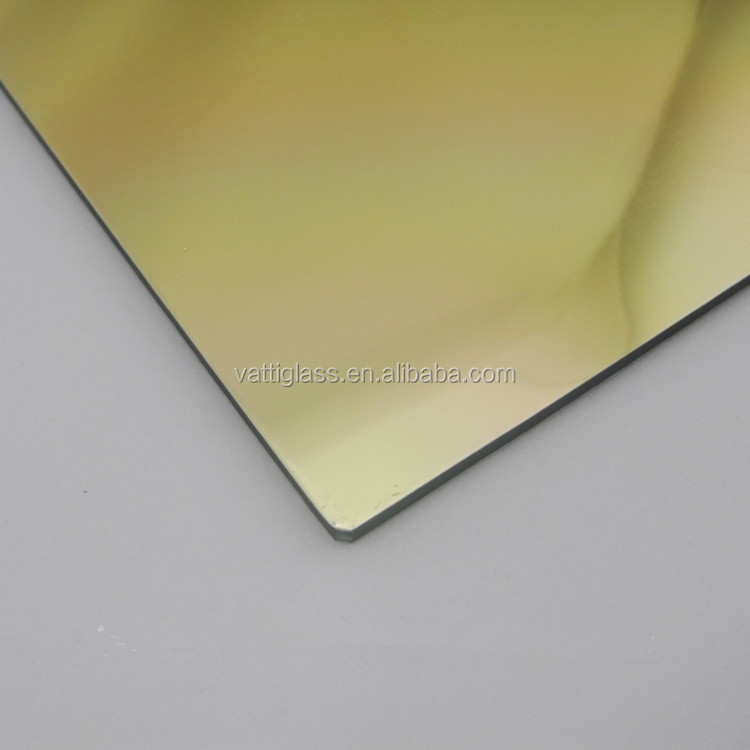 high reflective rate aluminium sliver and golden mirror panel,aluminium sliver mirror for bathroom