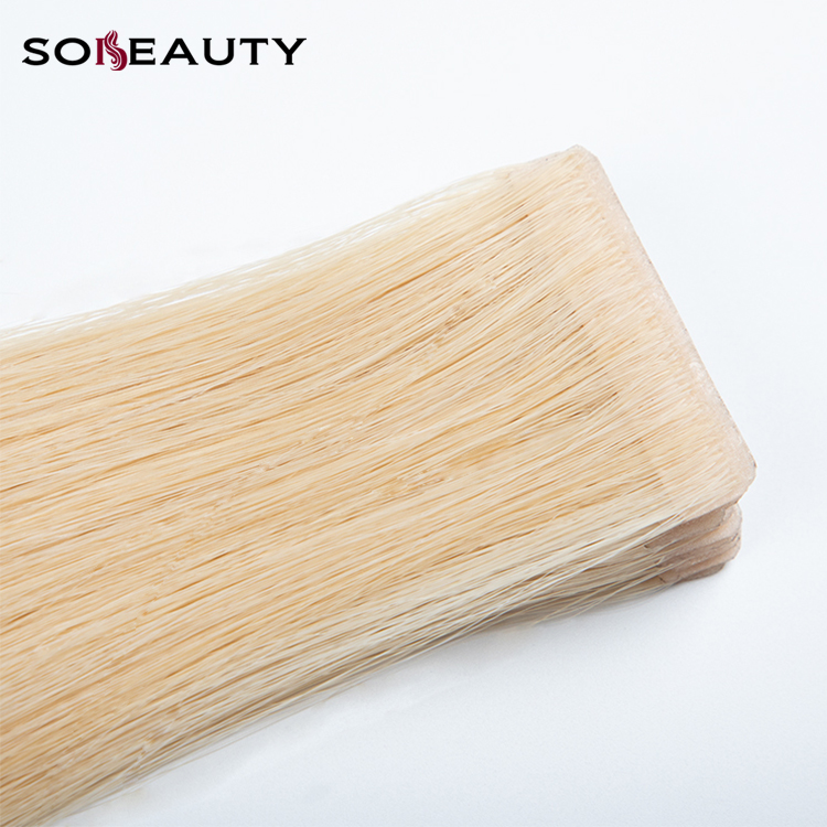Tape In Hair Remy Human Full Cuticle Extensions
