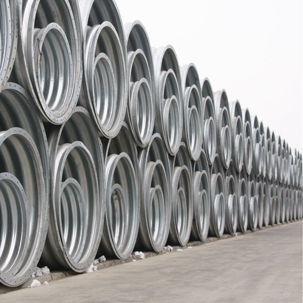 screw Corrugated steel Culverts for Sale bitumen Corrugated Steel Culvert Prices bitumen Corrugated Steel Culvert Pipe Prices