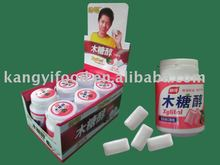 Xylitol multi-flavor chewing gum