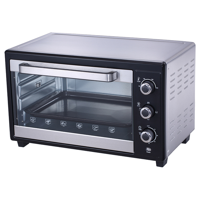 Best price Countertop black baking machine chicken oven with CB CE RoHS EMC