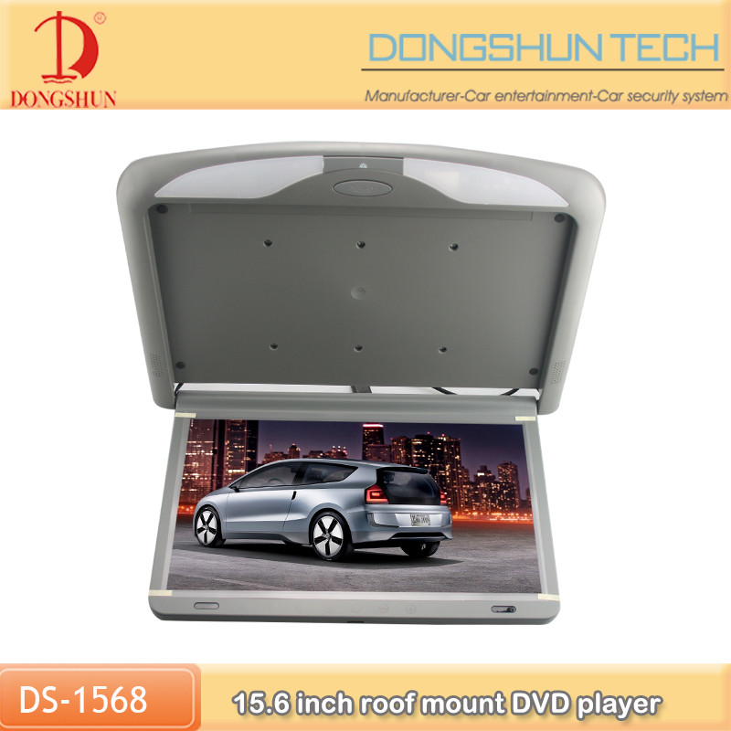 easy install 15.6 inch bus ceiling dvd monitor with usb sd fm remote control