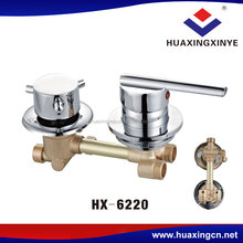 Factory latest design 2 years warranty bathroom faucets HX-6220 brass shower faucet valve