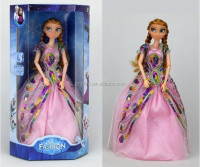 DIHAO Frozen Dolls China Best Selling Princess Cute Soft Frozen Doll Elsa