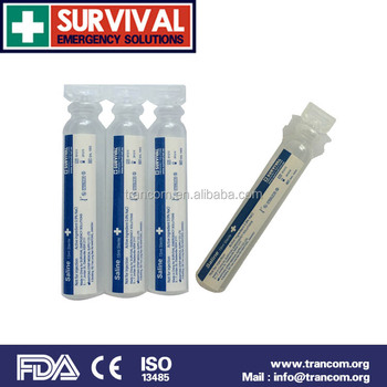 saline solution 1003 0.9% NaCl not for injection for eyewash first aid product