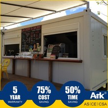 Ark Top Quality Good Price Long Lifespan Modified Container Prefabricated Steel Oil Field Convenience Stores