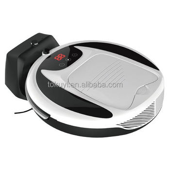 2016 High Class Multi-functional Robot Vacuum Cleaner with atuo charge and rechargeable li-ion battery