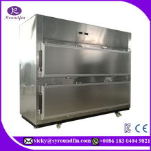 New export model morgue freezer 2 bodies cadaver mortuary refrigerator