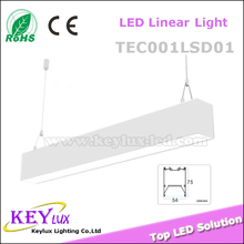 Integrated Lighting Linear LED Light Fitting 1200mm 40w Office Hanging Light