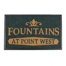 Entrance Welcome Commercial Brand Hotel Logo Carpet