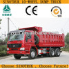 8X4 Sinotruck Tipper Lorry Building Trucks front double axle truck
