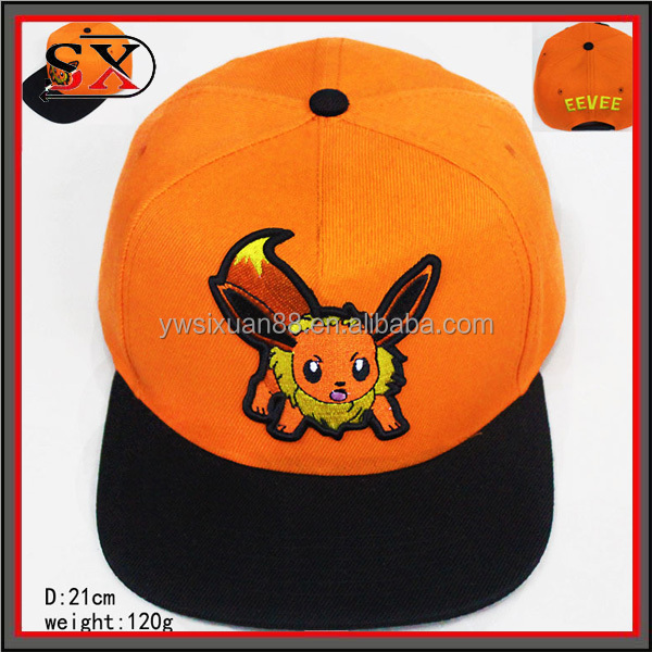 Baseball Hat Base Ball Hat Embroidery Pokemon Custom Base Ball Hat