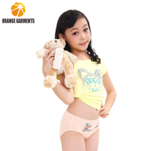 New product fashion cartoon print child pants girl underwear kids underwear wholesale