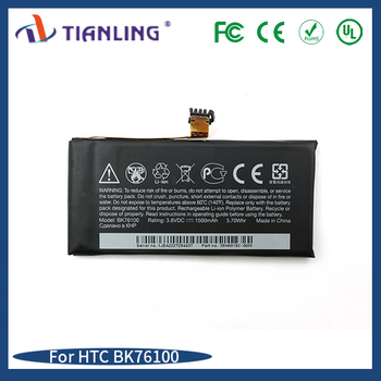 Replacement mobile phone battery wholesale BK76100 1500mAh For HTC One V G24/Primo/T320/T320e