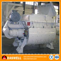 automatic ready mix hopper concrete mixer machine price