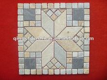 man-made slate mosaic tiles