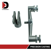 stainless railing glass clamp balustrade glass holder glass fixing system