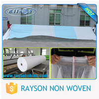 15gsm 640cm anti-uv agriculture geotextile non woven cloth roll for crop cover