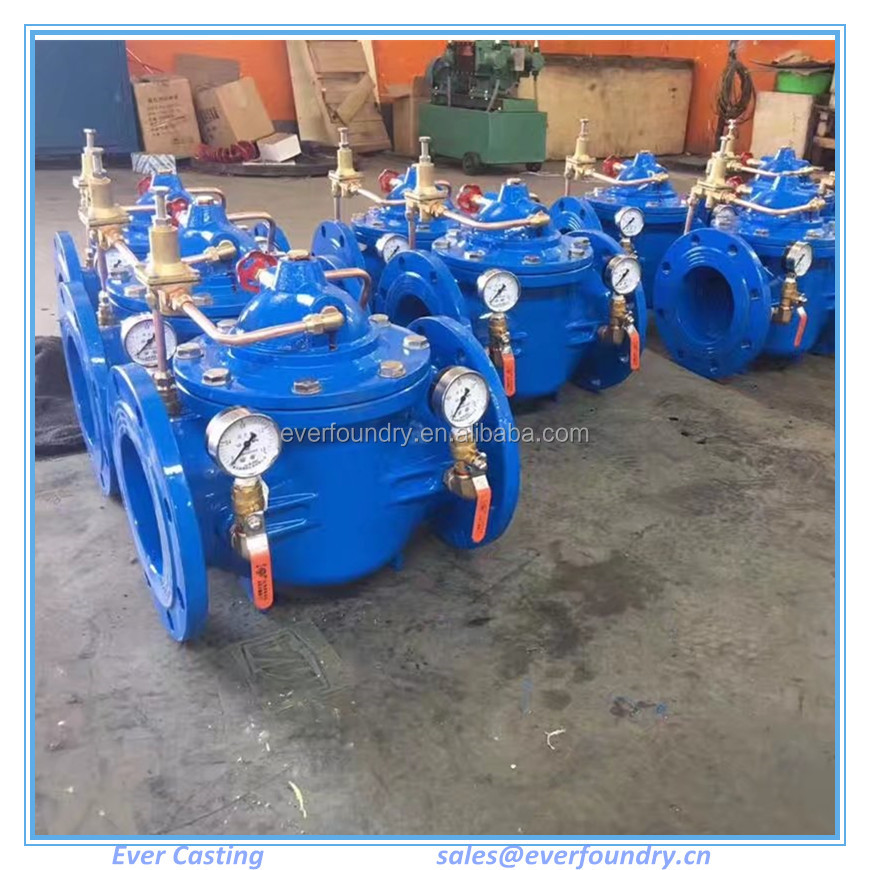 DI Safety Water Pressure Reducing Valve /High Pressure Relief Valve