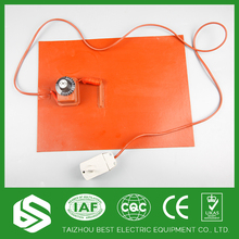 Silicone Rubber Heater Electric Industrial Heating Blankets/Pads/Plates