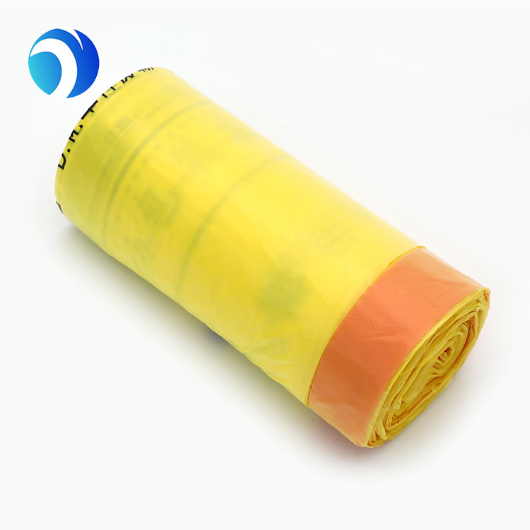 HDPE LDPE PLA PBAT Corn Starch Plastic Medical Household Tall Kitchen Biodegradable Compostable Trash Drawstring Garbage Bags