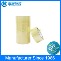 Alibaba China supplier Bopp water acrylic based adhesive packing tape, carton/box sealing Tape