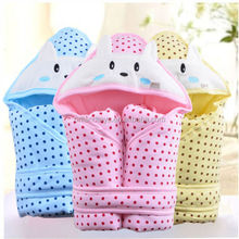 100% Cotton Thicken Warm newborn Baby Infant Swaddle Easy Wrap Swaddling Blanket