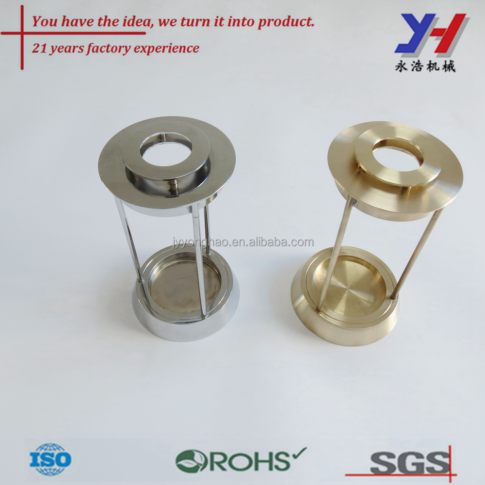 CNC turning parts, CNC machining copper products Custom made