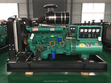 100kw/125kva diesel generator sets price fuel consumption with silent box for sale