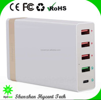CE pass travel charger qc 3.0 charger, all in one mobile phone charger, type c charger QC3.0 Charger