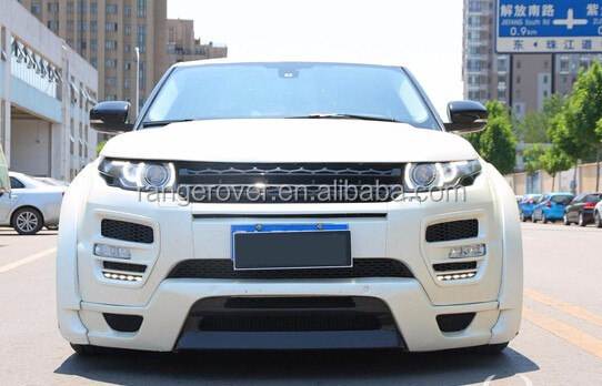 range-rover evoque Ham style body kit bumpers PU material