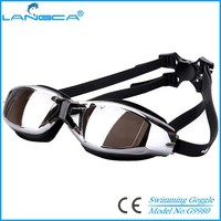Waterproof Adjustable Swimming Glasses Unisex Adult Non Fogging Anti-UV Swimming Goggles