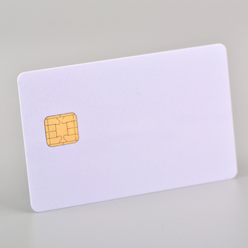 Original JCOP J2A040 Java Card Smart Card with Hico Magnetic Stripe can Provide Ribbon/Film