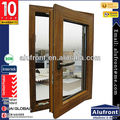 Aluminum Cladding Wood Casement Window with Germany Hardware