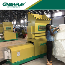 GreenMax Mars EPS modeling foam blocks melting recycle equipment