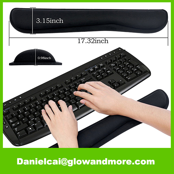 Manufacturer provide high quality fashion keyboard wrist rest pad