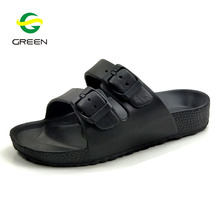 Greenshoe men pu slippers shoes casual footwear slide sandal